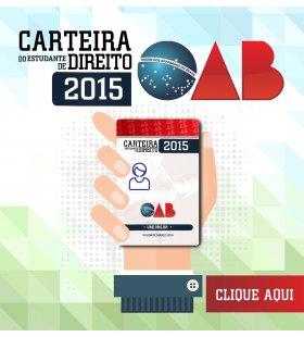 Carteira de Estudante OAB 2015